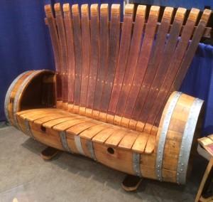 Auction Item bench