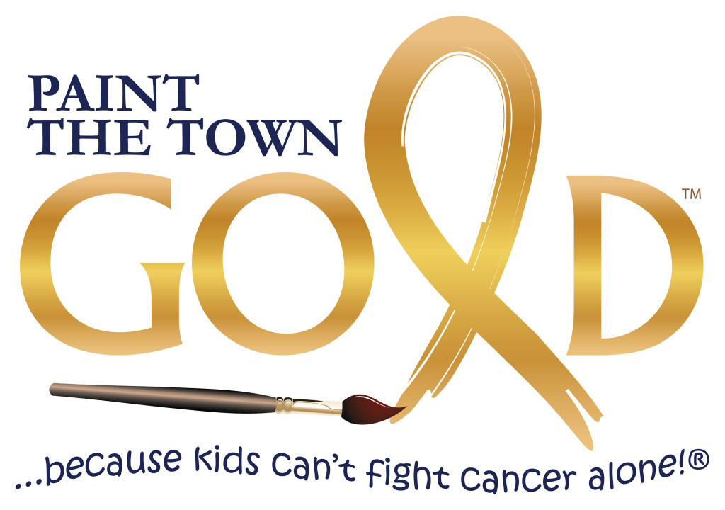 Paint The Town Gold with tagline