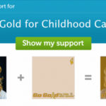 turn your profile picture gold for childhood cancer