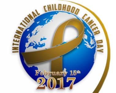International Childhood Cancer Day logo