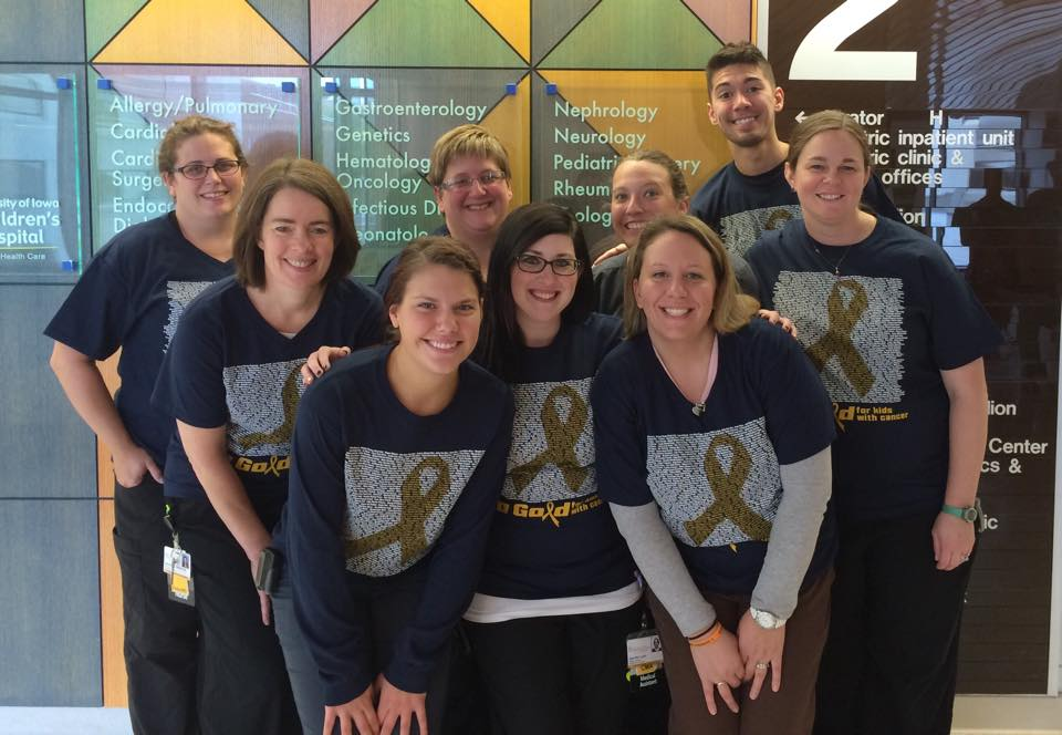 2015 Go Gold Shirt Campaign