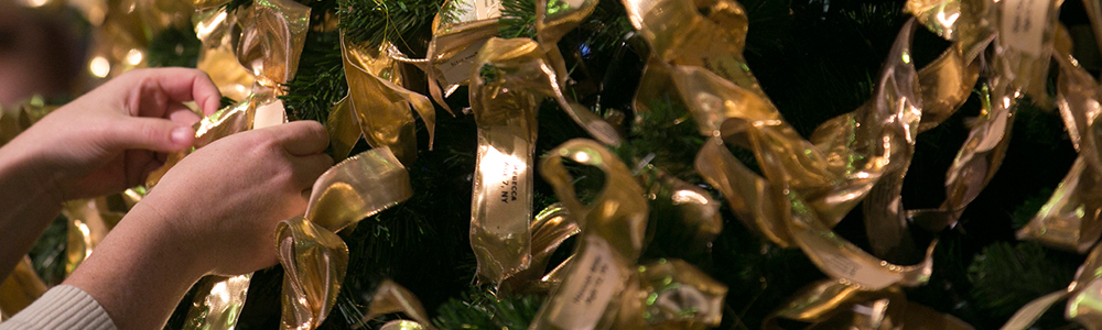 Gold Ribbon from National Awareness Tree