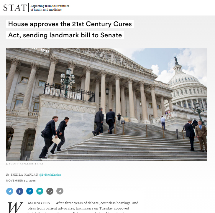 house-approves-the-21st-century-cures-act-sending-landmark-bill-to-senate