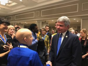 Senator McCaul Support Childhood Cancer