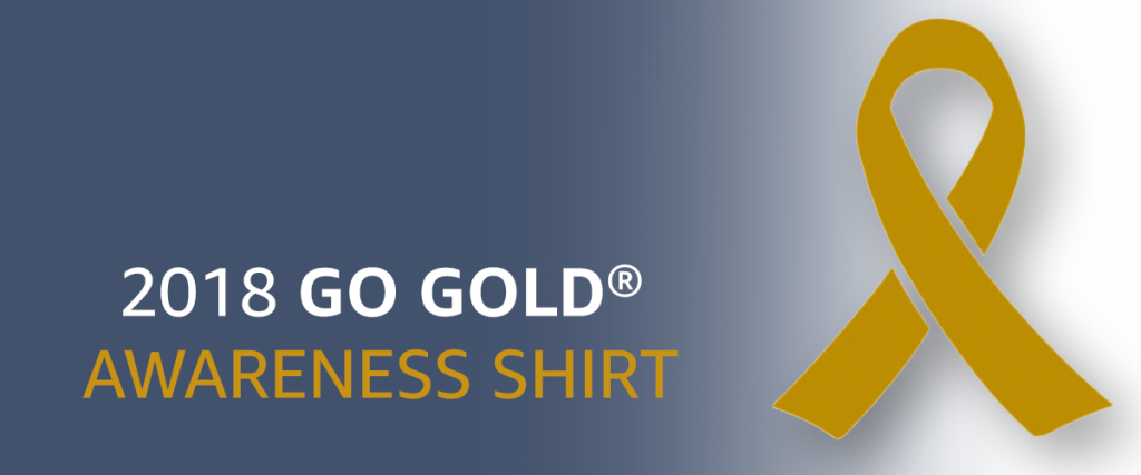 2018 GO GOLD SHIRT WITH LOGO