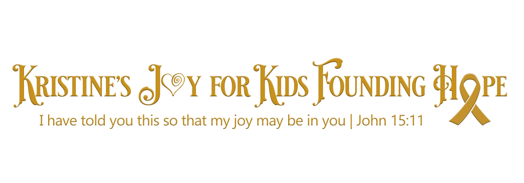 Kristine's Joy for kids founding hope logo