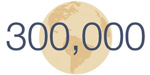 300,000