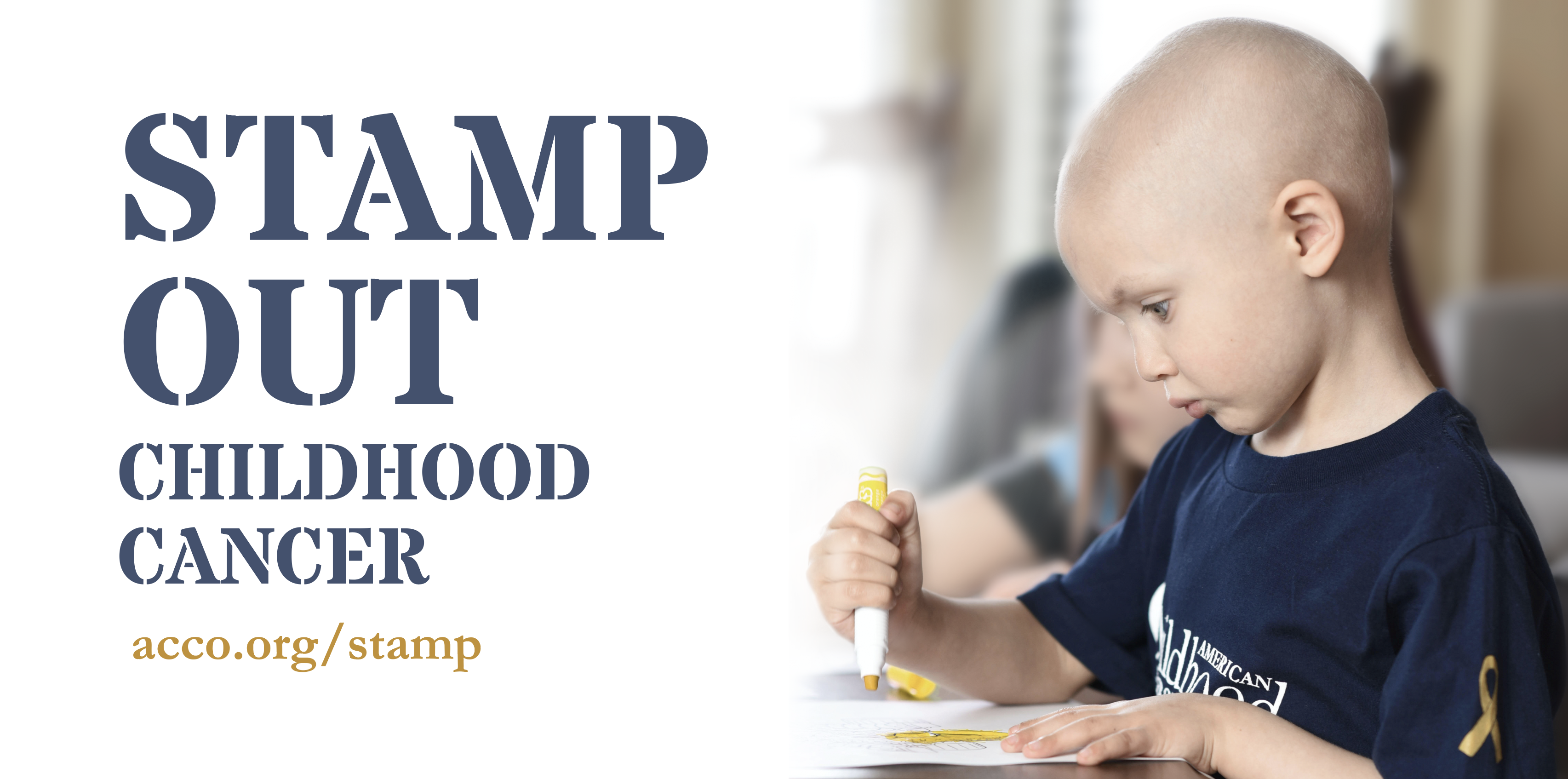 Stamp Out Childhood Cancer