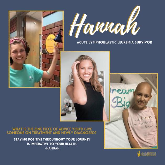 Hannah Survivor Story