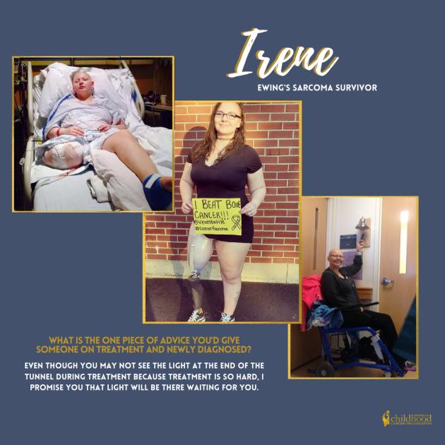 Irene's Survivor Story
