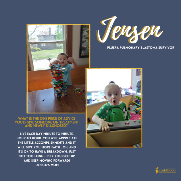 Jensen's Survivor Story