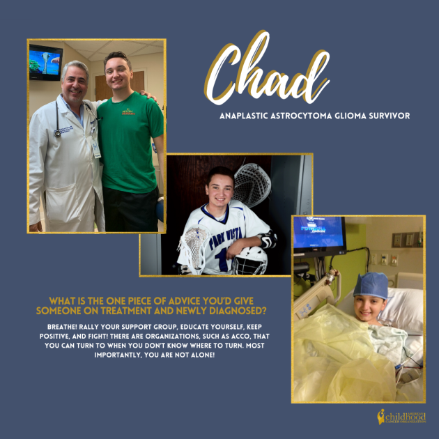 Chad's Survivor Story